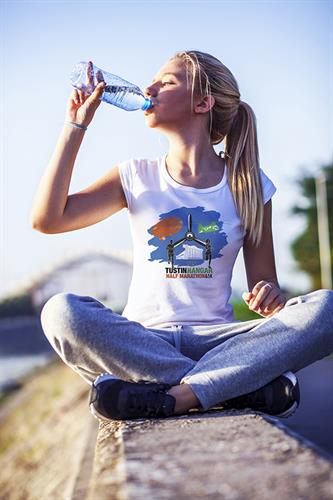2019 Tustin Hangar Half Marathon shirt design. One of many designs