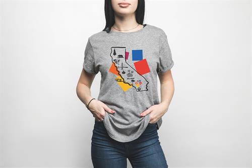 OCSA shirt design