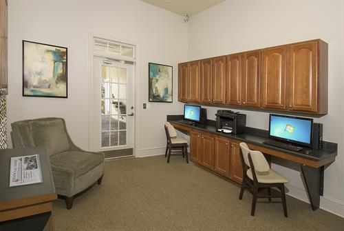 The Verandas Phase 24 Hour Business Center.