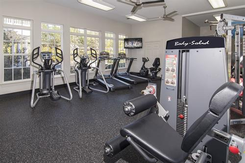 The Verandas Phase 24 Hour Fitness Center.