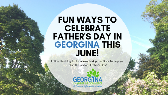 Image for Fun Ways to Celebrate Father's Day in Georgina!