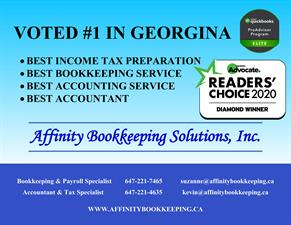 Affinity Bookkeeping Solutions, Inc.