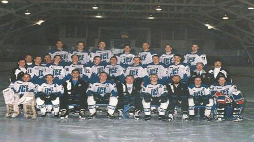 Our first team photo from the 1994-95 season