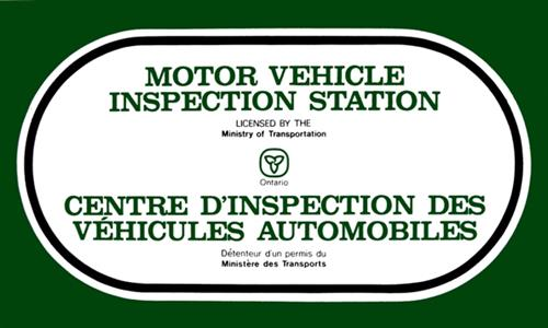 Ministry of Transportation Inspection Station