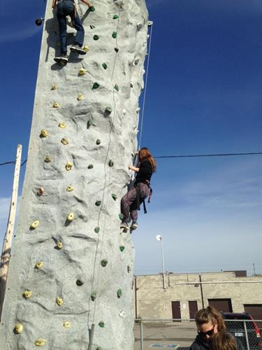 Youth - rock climbing