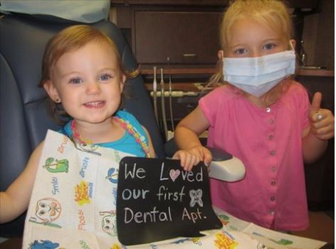first dental appt