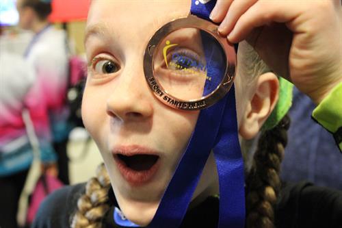 Elisha: Ontario Bronze Medalist, Floor 2018