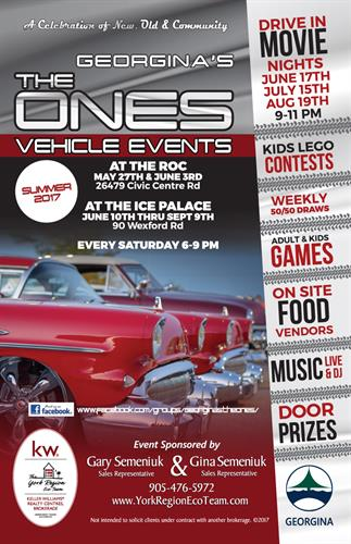 Creators and owners of the ONES vehicle events brand. Weekly Car shows