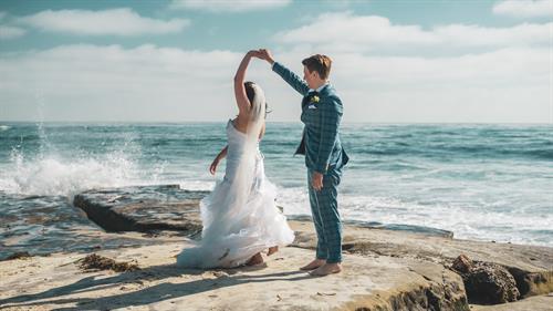 San Diego California Wedding German Family