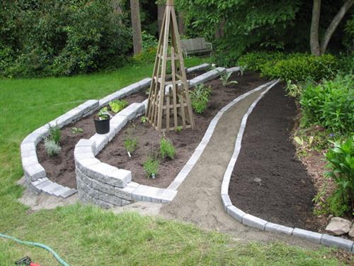 Hillside Terrace garden - Edmonds, WA