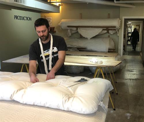 Hand-crafted bedding from our Seattle workshop