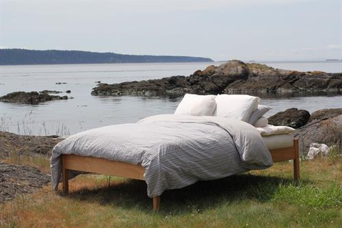 Sleep in Nature with our all natural and organic mattresses and bedding