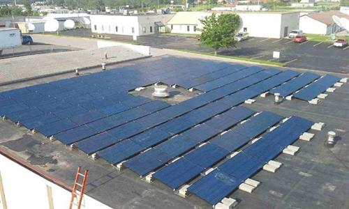 29kw Commercial Flat Roof System