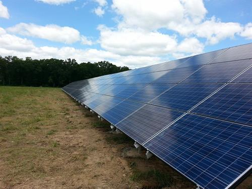 42kw Commercial Ground Mount System