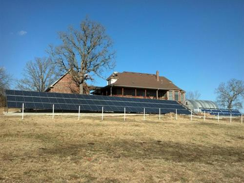 18kw Residential Ground Mount System