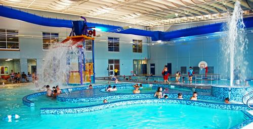 indoor recreation and lap pool