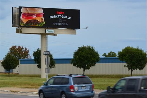 Digital Billboard at Kansas Expressway and Battlefield
