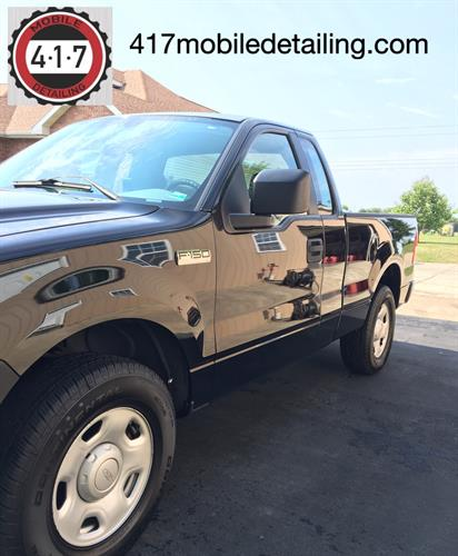 2006 Ford paint restoration