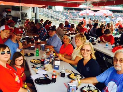 Alumni picnic at Springfield Cardinals