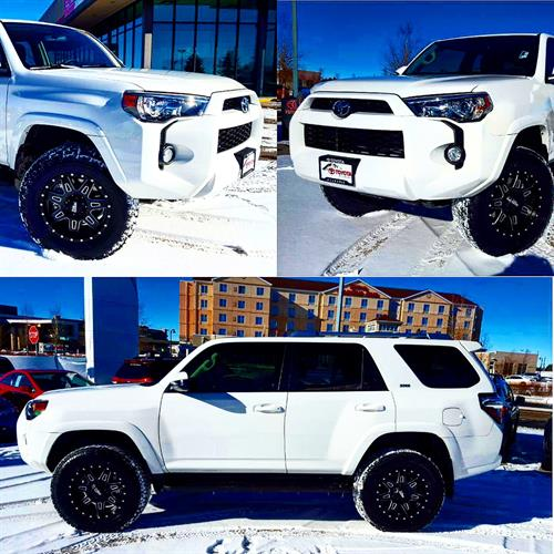Custom Lifted 4Runner!