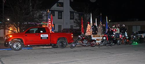 Christmas Parade, Legion riders
