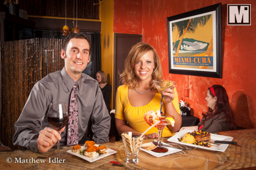 Food and restaurant photography for advertising and marketing.