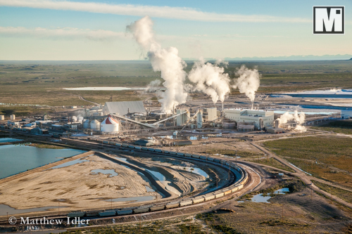 Trona and mining photography for advertising and marketing.