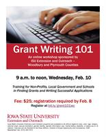 Grant Writing 101 Virtual Workshop