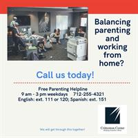Crittenton Center Offering Free Helpline For Parents