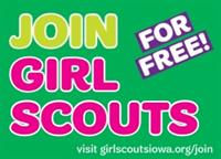 Join Girl Scouts FOR FREE!