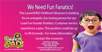 Lead Fun Fanatic- Guest services manager