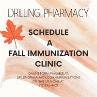 Drilling Pharmacy Immunization Clinics