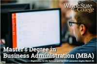 Wayne State College Online MBA Program
