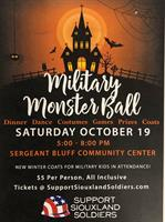 Support Siouxland Soldiers Military Monster Ball To Be Held October 19