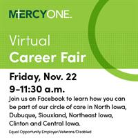 MercyOne Virtual Career Fair