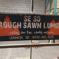 SE SD Rough Sawn Lumber