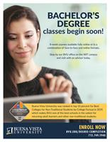 Term 3 Bachelor's Degree classes BEGIN January 6, 2020!
