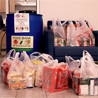 Food Drive Ends with Huge Success