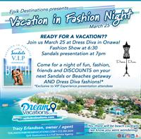 Vacation in Fashion! Sandals & Beaches Resorts AND Dress Diva Boutique