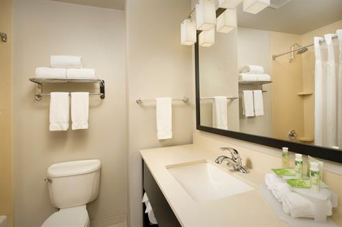 Holiday Inn Express & Suites DFW Grapevine- Guest Bathroom