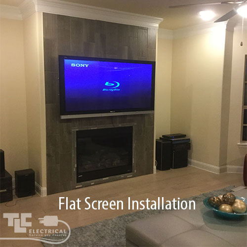 Flat Screen TV Installations