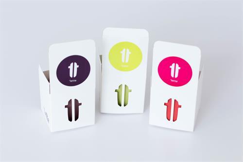 Mini gift-box with company logo