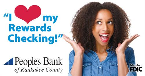 You'll love our Rewards Checking Account!