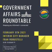 Government Affairs Roundtable - Meet the Interim City Manager