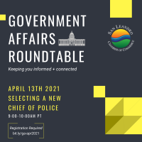 Government Affairs Roundtable - Selecting a New Chief of Police
