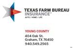 Texas Farm Bureau Insurance Co., Young County