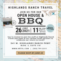 Highlands Ranch Travel's Open House & BBQ