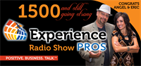 Nationally Syndicated, Experience Pros celebrating 1500 shows!