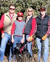 Mike, Tammy, Logan, Nate and Sadie Heflebower