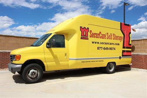 SecurCare Self Storage Move in Truck